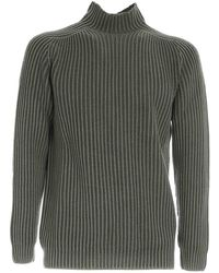 Dondup Ribbed Sweater - Green