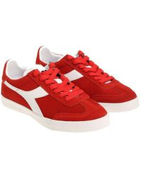 Diadora - Red B.original Vlz R Sneakers - Lyst