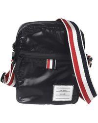 Thom Browne Shiny Crossbody Bag - Black