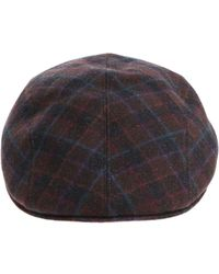 Altea Black And Brown Beret With Multicolor Details
