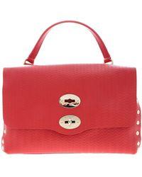 Zanellato Postina S Bag Cashmere Line Blandine - Red