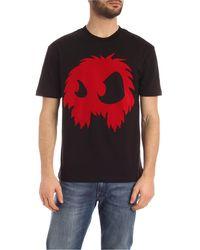 McQ Monster Print T-shirt - Black