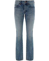 Saint Laurent Bootcut Jeans - Blue