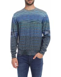 Missoni Blue Wool Jumper