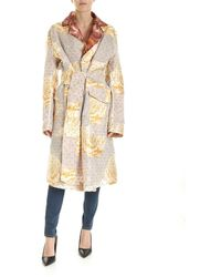 Vivienne Westwood Ophelia Technical Fabric Coat - Natural