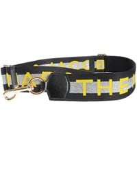 Marc By Marc Jacobs Webbing M Jacobs Strap - Black