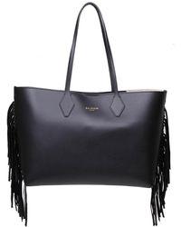 Balmain Shopping Bag - Black