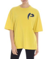 Pinko - T-shirt so gialla - Lyst