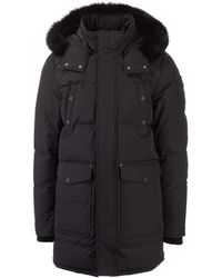 Moose Knuckles Quilted Down Jacket - Black