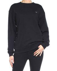 McQ - Black Swallow Badge Sweatshirt - Lyst