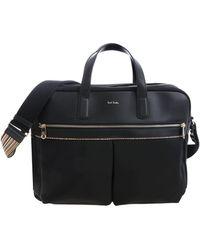 Paul Smith - Black Cross-body Bag With Logo - Lyst