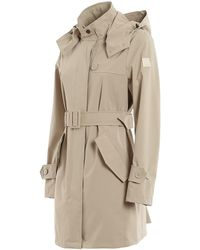 Woolrich Fayette Trench Coat - Natural