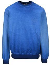Opening Ceremony Faded Print Sweatshirt - Blue