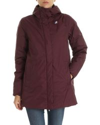 K-Way - Sophie Thermo Plus Down Jacket - Lyst
