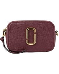 Marc Jacobs - Borsa A Tracolla The Softshot 17 Bordeaux - Lyst