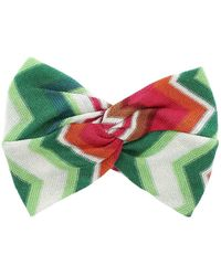 Mc2 Saint Barth Multicolour Ivy Headband - Green