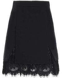 Alexander McQueen Women's 645752qjaaa1000 Black Other Materials Skirt