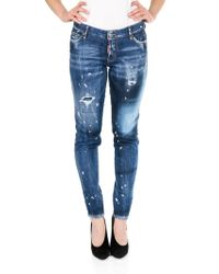 DSquared² - Distressed Jennifer Jeans - Lyst