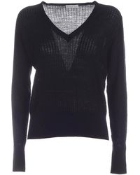 Ballantyne Wool Sweater - Black