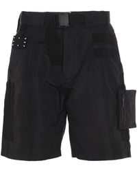 McQ - Cargo Bermuda Shorts - Lyst