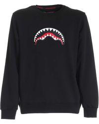 Sprayground Logo Patch Sweatshirt - Black