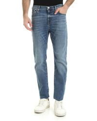 Paul Smith 5 Pocket Jeans - Blue