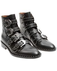 Givenchy - Leather Boots - Lyst
