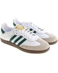 427a266342f9 Adidas Originals White Samba Og Sneakers in White for Men - Lyst