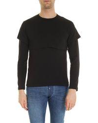 Comme des Garçons Overlaid T-shirt - Black