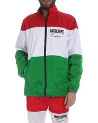 Moschino Giubbino tricolore - Multicolore