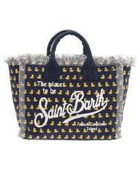 Mc2 Saint Barth Ducky Print Colette Bag - Blue