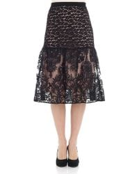 N°21 Black Lace Skirt