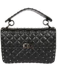 Valentino Garavani - Rockstud Spike Quilted Leather Bag - Lyst
