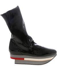 Vivienne Westwood Rocking Horse Ankle Boots - Black