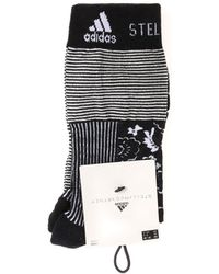 adidas By Stella McCartney - Black And White Printed Socks - Lyst
