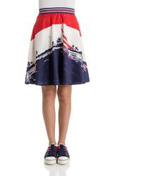 Tommy Hilfiger - Cotton Skirt - Lyst
