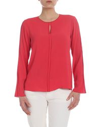 Her Shirt Aiden Blouse - Red