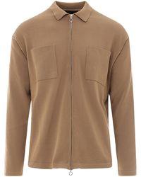 Roberto Collina Cotton Sweater - Natural