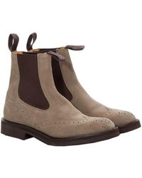 """Tricker's - """"henry"""" Boots - Lyst"""