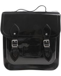 Melissa - Black Backpack With Front Buckles - Lyst