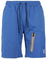 K-Way Shorts Le Vrai Gontrand Blu
