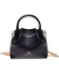 Michael Kors Ring Handle Bag - Black