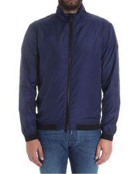 Emporio Armani - Bllue Bouson Jacket - Lyst