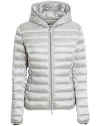 Save The Duck Nylon Puffer Jacket - Gray