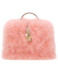 Dolce & Gabbana Bauletto Dolce Box Rosa