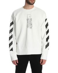 Off-White c/o Virgil Abloh Dripping Arrows Long-sleeved T-shirt - White