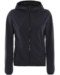 Colmar Water Repellent Hooded Jacket - Blue