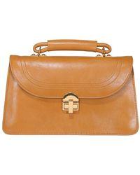 Marni Juliette Leather Bag - Yellow