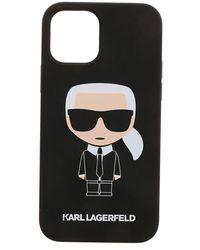 Karl Lagerfeld K Ikonic Iphone 12/12 Pro Case - Black
