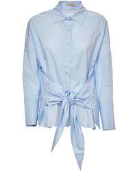 Mes Demoiselles Snap Shirt - Blue